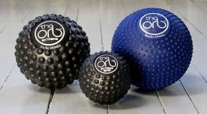 the orb, orb extreme, and orb extreme mini massage balls