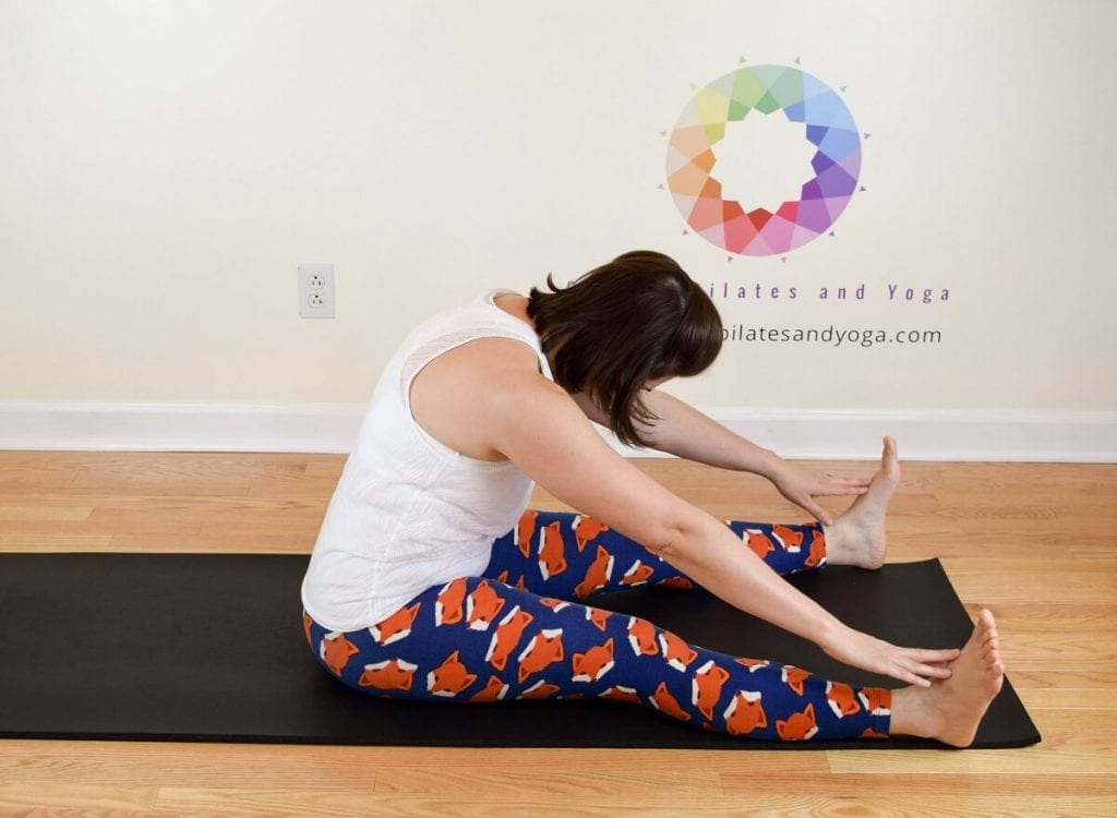 pilates spine stretch forward